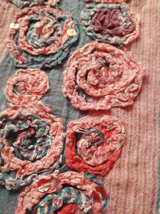 Женская вышитая рубаха Peruna. Индия. Ручная работа, фото №5