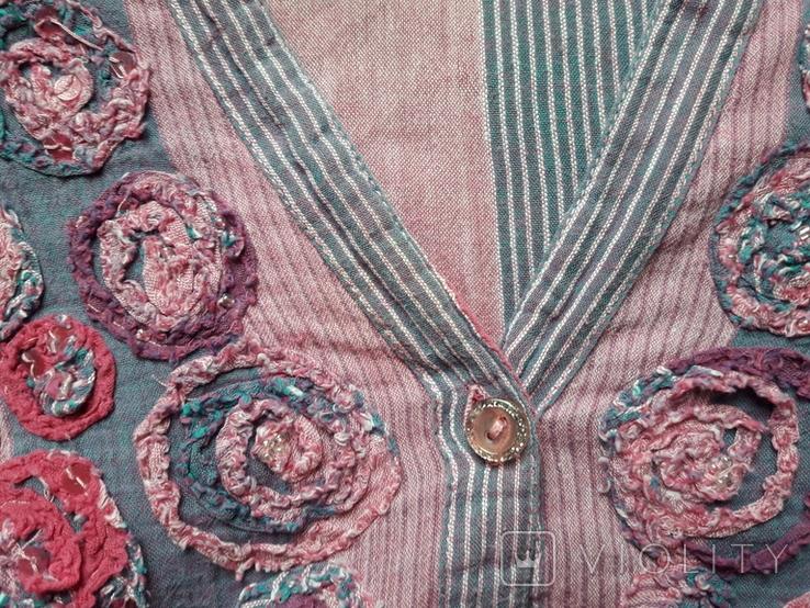 Женская вышитая рубаха Peruna. Индия. Ручная работа, фото №13