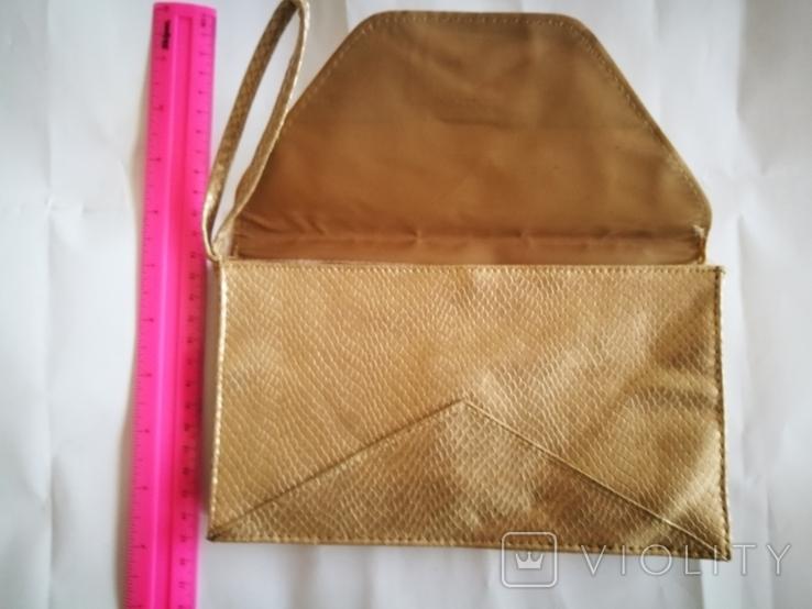Золотистая сумочка., фото №4