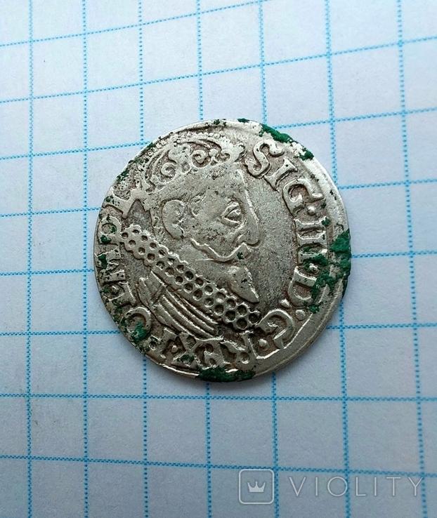 Трояк 1622 р., фото №2
