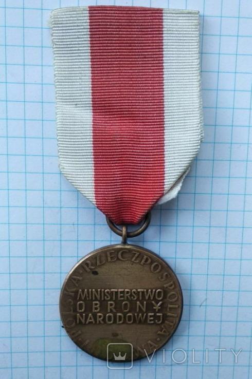 """Медаль """"За заслуги"""", фото №3"""