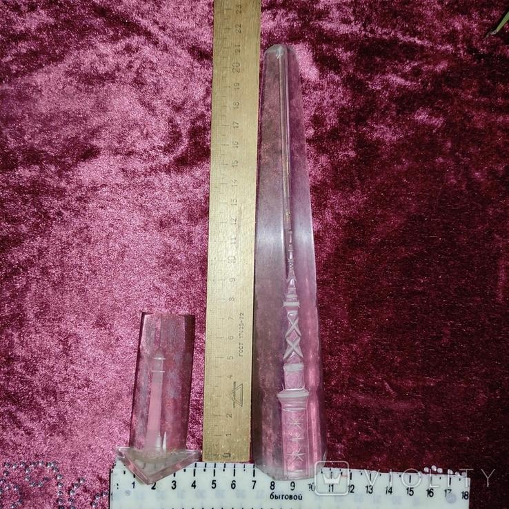 Два сувенира из плексигласа. Один без основания., фото №12
