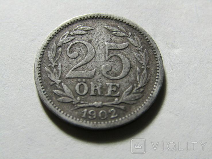 25 ере 1902 Швеция, фото №3