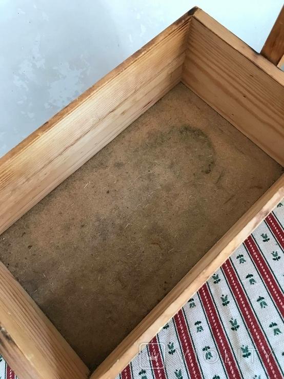Деревянная корзинка корзина дерево, фото №5