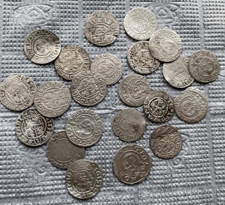 22 срібні монети Польша та Європа, фото №2