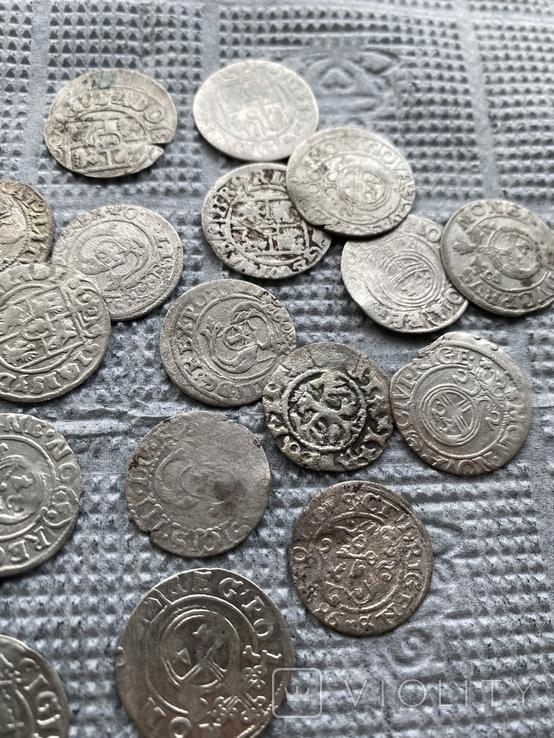 22 срібні монети Польша та Європа, фото №4