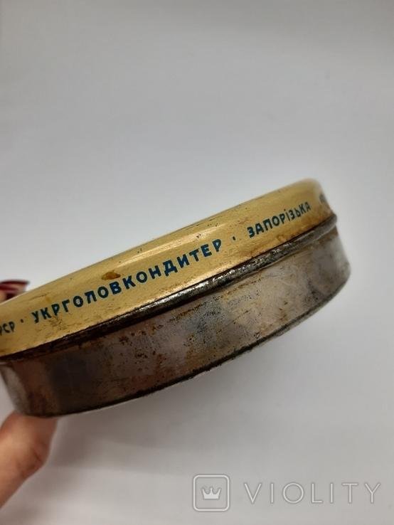 Банка Коробка с Халвы, 1960е гг Запорожье, фото №5