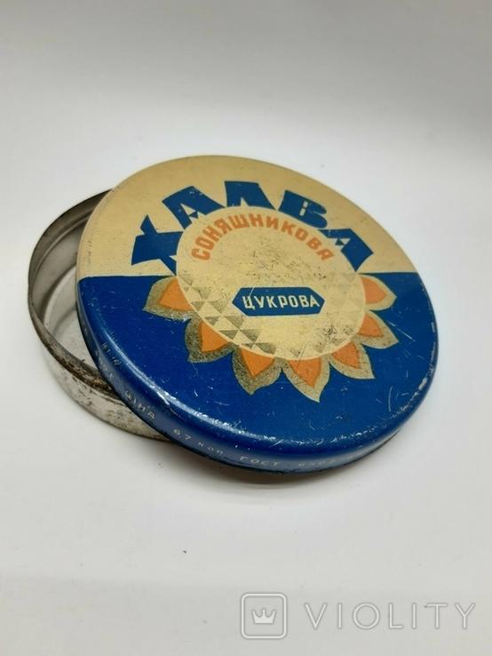 Банка Коробка с Халвы, 1960е гг Запорожье, фото №12