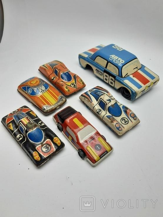Машинки гоночные СССР, фото №2