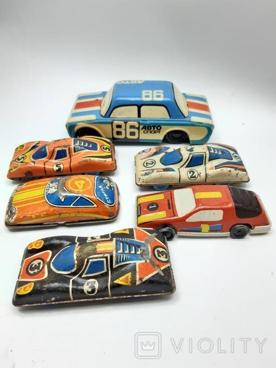 Машинки гоночные СССР, фото №8