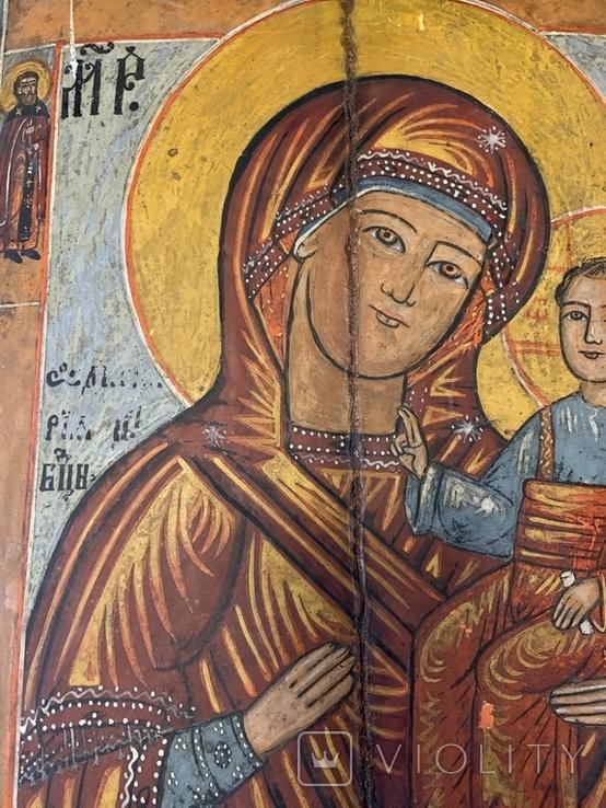 Икона Богородица и Иисус Христос, фото №6