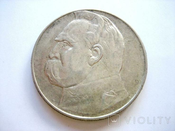 10 злотих 1936 рік, фото №3
