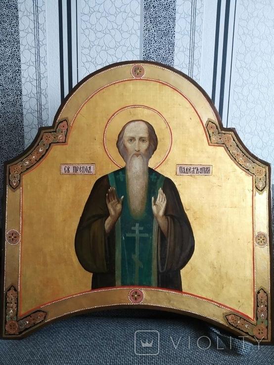 Св.Павел вис 75см шир 71см товщ 3.5см, фото №3