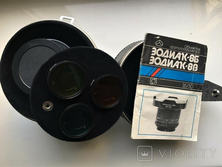 Широкоугольный объектив Зодиак - 8В 3,5/30 новый, фото №7