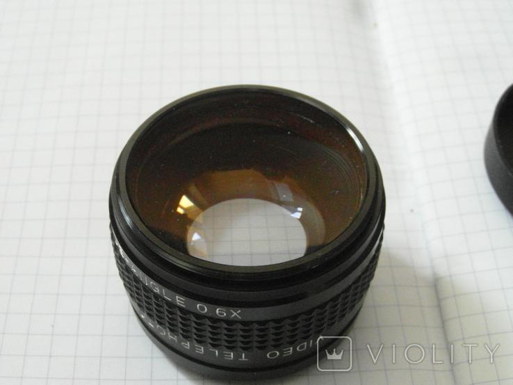 Video telephoto 1.5 x japan.wide-angle 0.6 x., фото №3