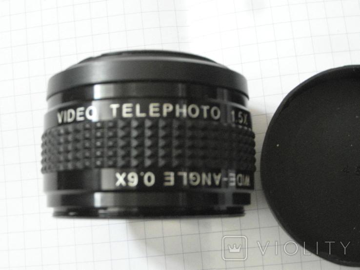 Video telephoto 1.5 x japan.wide-angle 0.6 x., фото №8