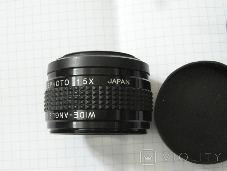 Video telephoto 1.5 x japan.wide-angle 0.6 x., фото №9