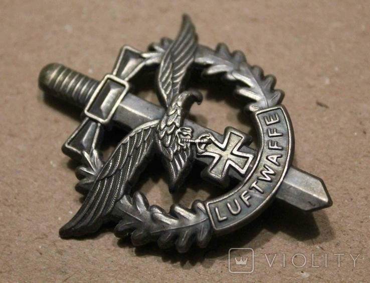 Знак Luftwaffe Орел Меч (копия), фото №3
