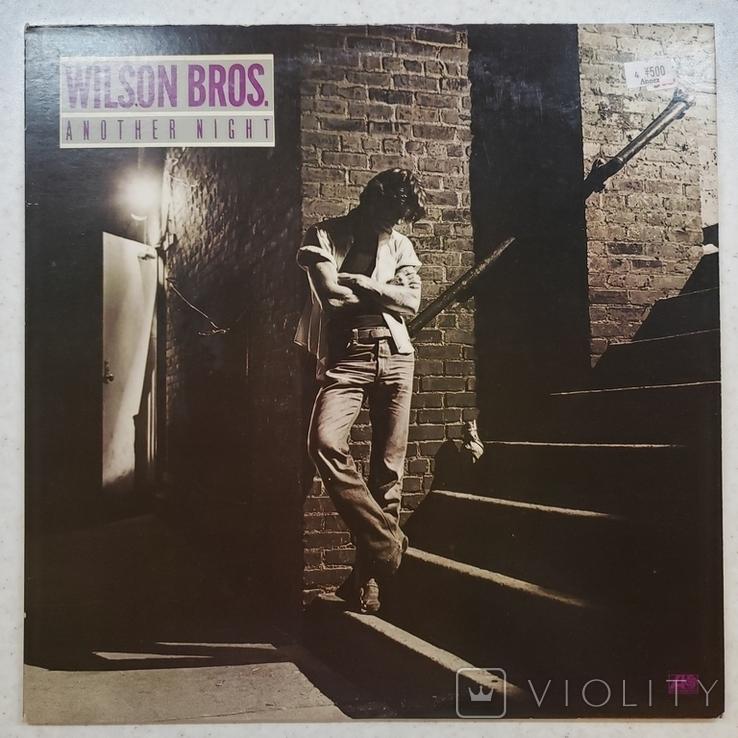 "Платівка. Jazz, Rock. ""Wilson Bros. Another Night""+INSERT1979, фото №2"