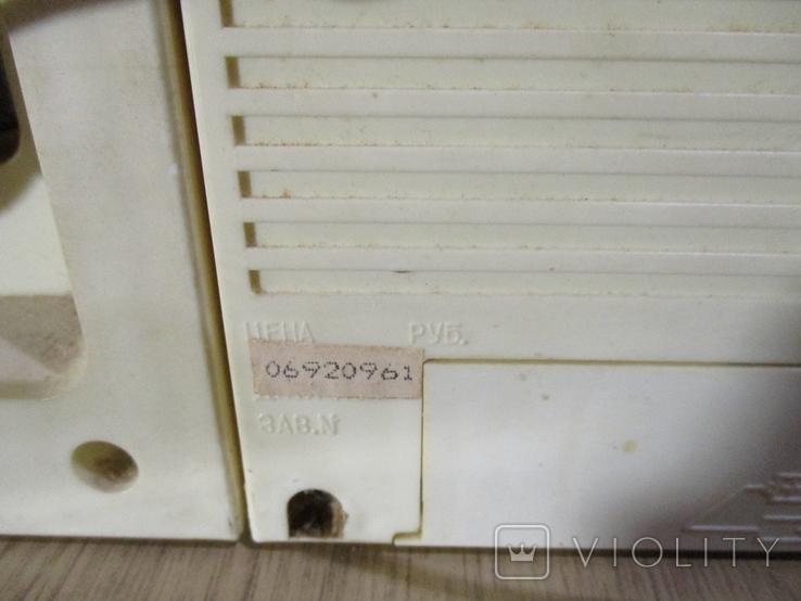 Проигрыватель кассет Лота ссср 1991 год., фото №5