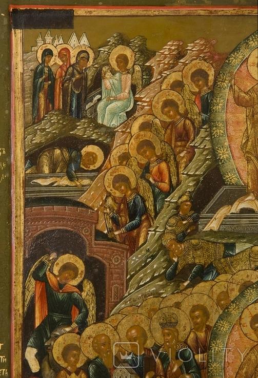 Воскрешение Господне и сошествие в ад, Мстёра или Ярославль, первая половина XIXв., фото №4