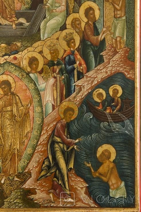 Воскрешение Господне и сошествие в ад, Мстёра или Ярославль, первая половина XIXв., фото №6