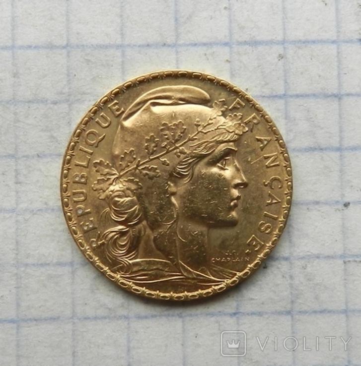 20 франков 1904 г., фото №2