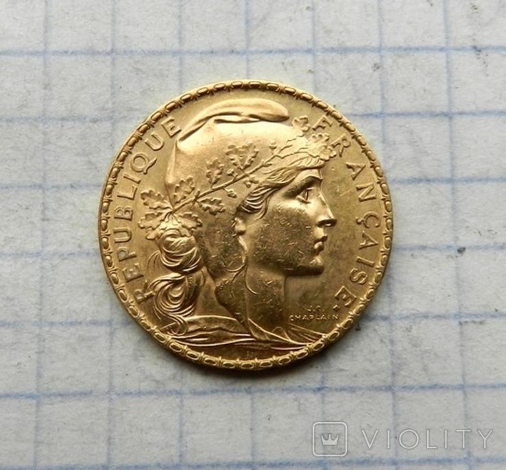 20 франков 1904 г., фото №3