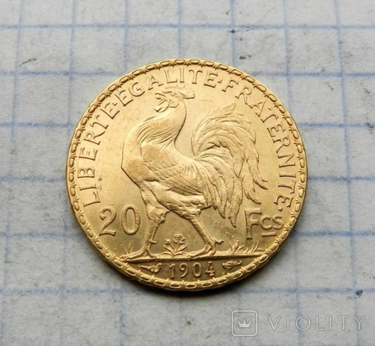 20 франков 1904 г., фото №5