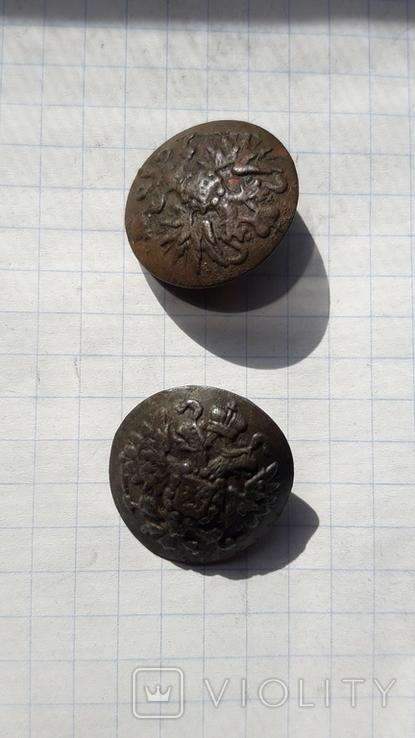 Пуговицы литые РИА., фото №3