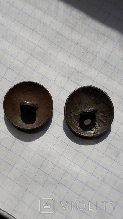 Пуговицы литые РИА., фото №5
