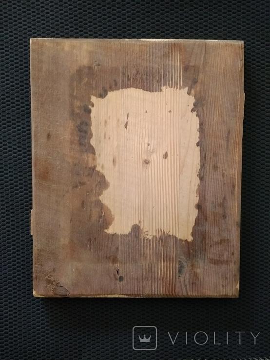 Иконная доска IXX век., фото №3