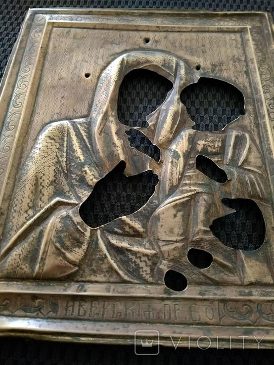 Иверская Пр. Богородица. Оклад., фото №3