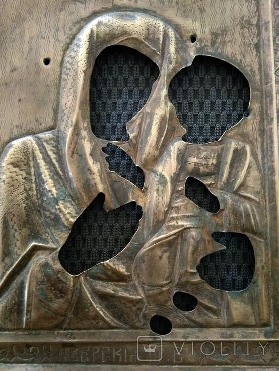 Иверская Пр. Богородица. Оклад., фото №4