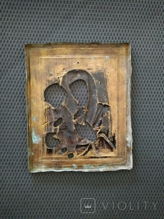 Иверская Пр. Богородица. Оклад., фото №9