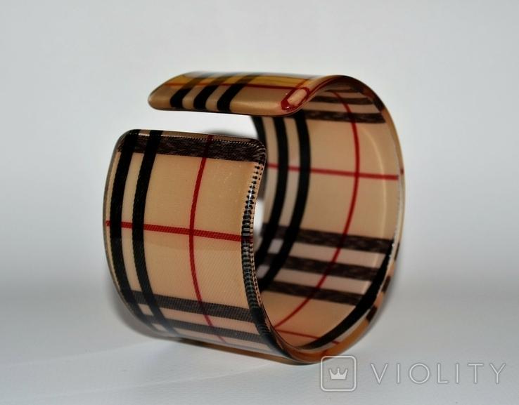 Широкий винтажный браслет., фото №3