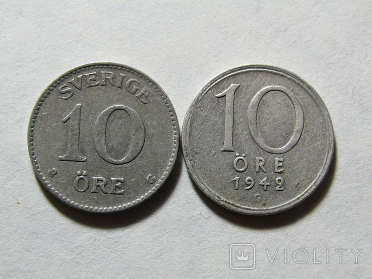 10 ере 1941-42 Швеция, фото №2