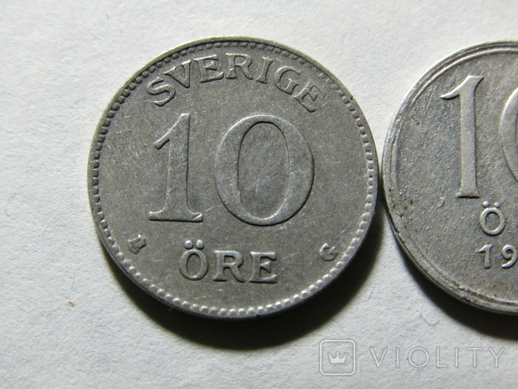 10 ере 1941-42 Швеция, фото №3