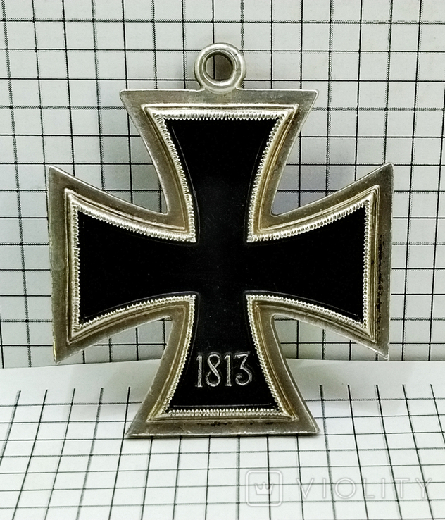 "Орден "" железный крест "" клеймо М. Реплика. свастика. 1813 - 1939, фото №3"