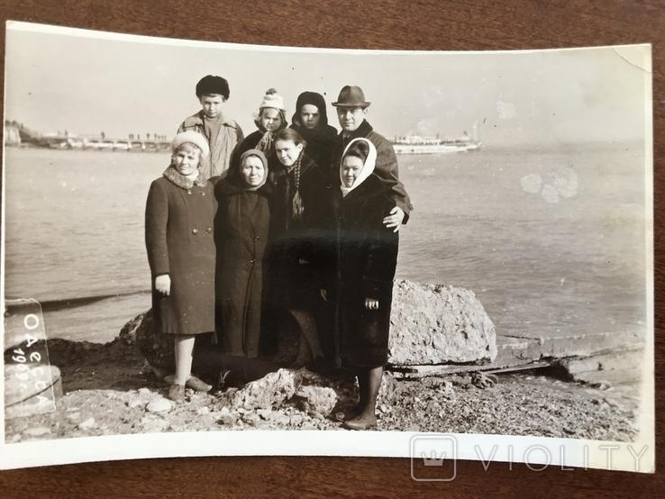1969 Одесса Пляж Весна Катер, фото №2