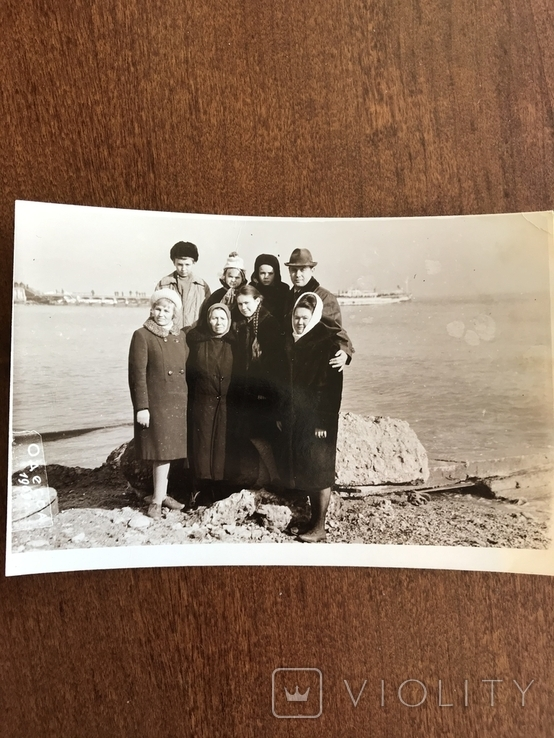 1969 Одесса Пляж Весна Катер, фото №4