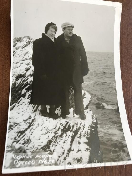1962 Одесса Пляж Зима, фото №4