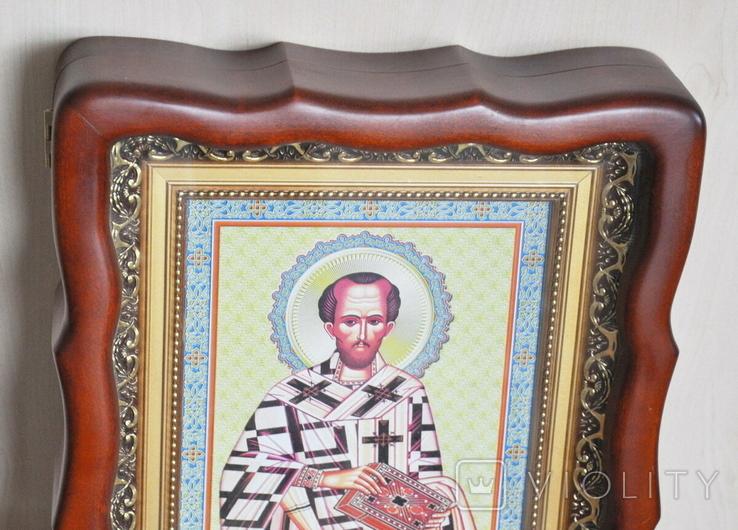 100 разных икон церковных праздников и святых + аналойный киот, фото №5