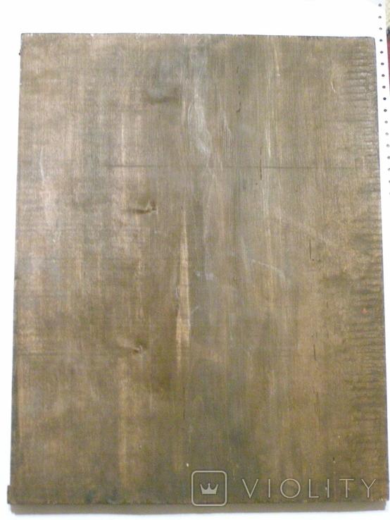 Ікона Собор Архістратига Михаїла 480мм Х 360мм, фото №4