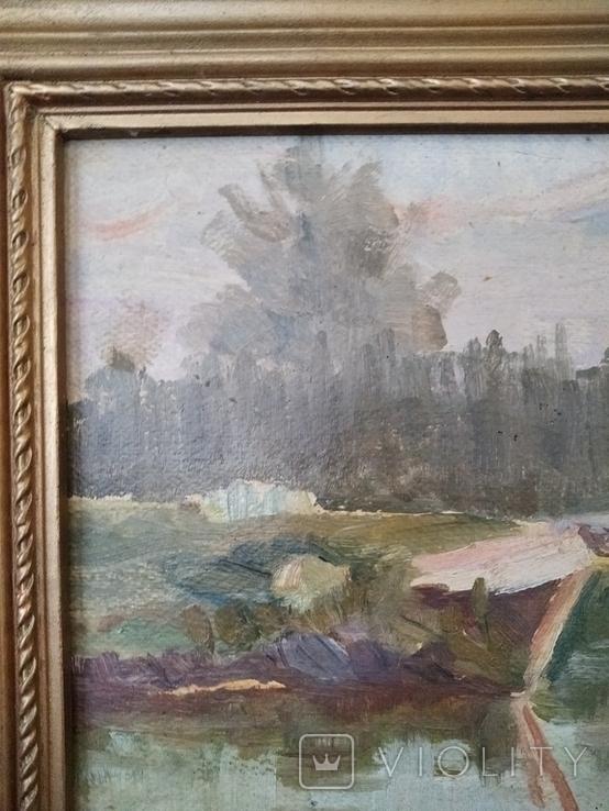 Картина маслом неизвестного художника, фото №5