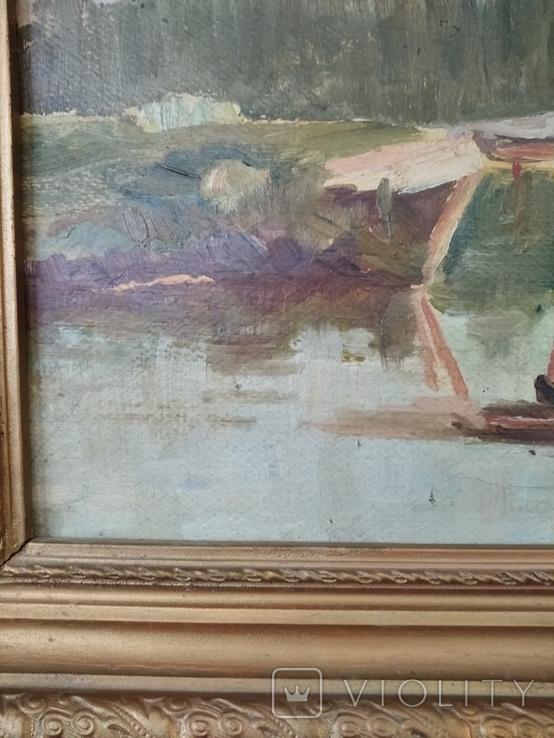 Картина маслом неизвестного художника, фото №8