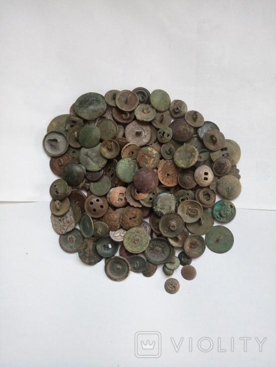 Разные пуговицы 145 шт, фото №2