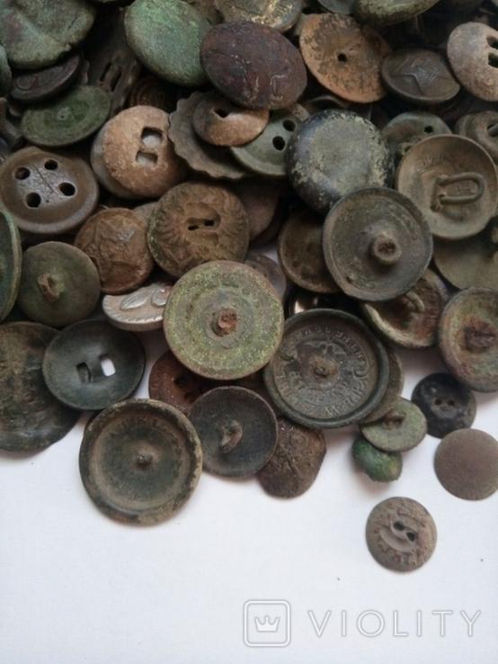 Разные пуговицы 145 шт, фото №3