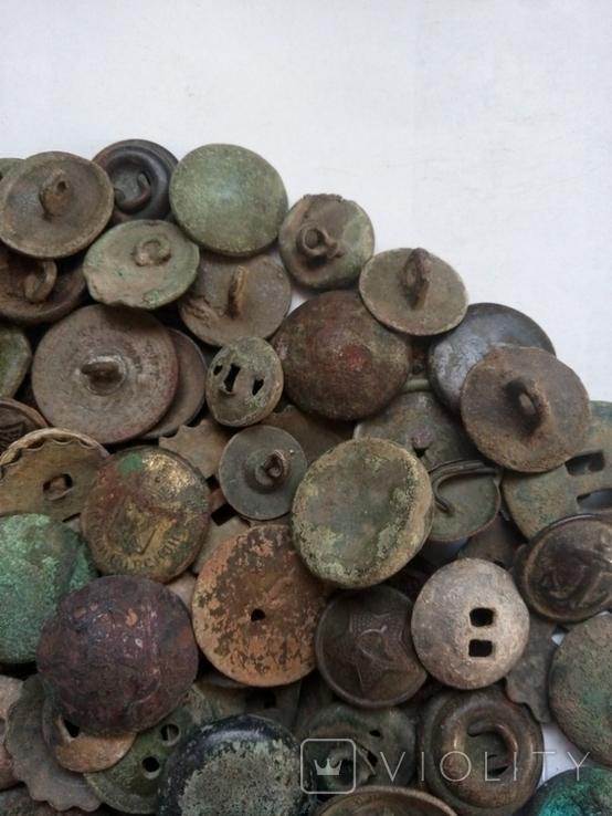 Разные пуговицы 145 шт, фото №5