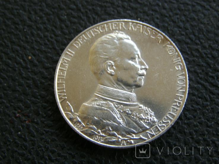2 марки 1913 г Пруссия, фото №2